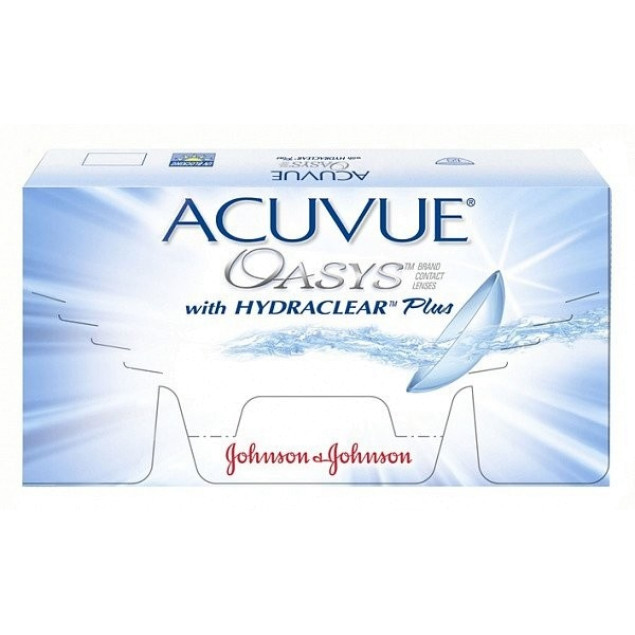 ACUVUE OASYS with HYDRACLEAR Plus - Фото 1
