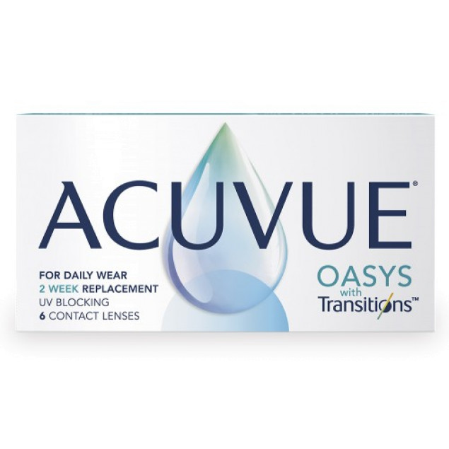 Acuvue Oasys with Transitions - Фото 1